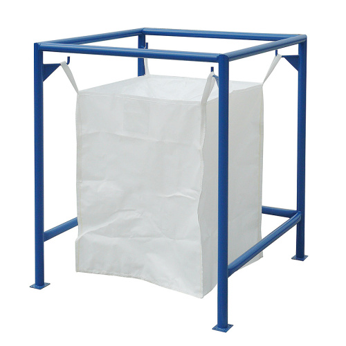Stand for bulk sacks without roof