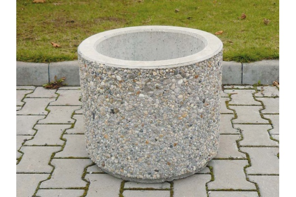 Concrete plant pot pr. 1000 x 430 mm