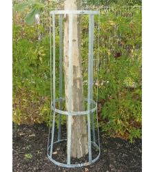 Galvanized high tree protection