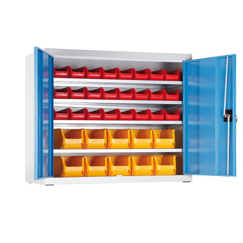 Cabinet with containers