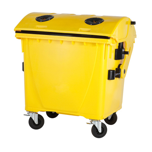 Plastic container 1100 l - plastics, without a lock