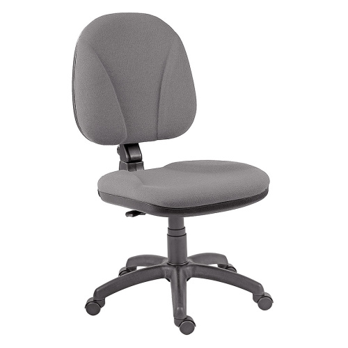 Antistatic chair without armrests
