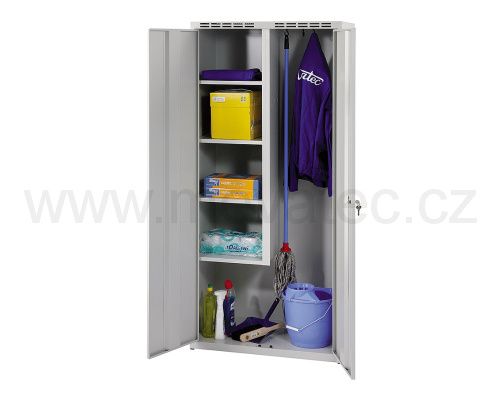 Cleaning cabinet w 600 mm - grey