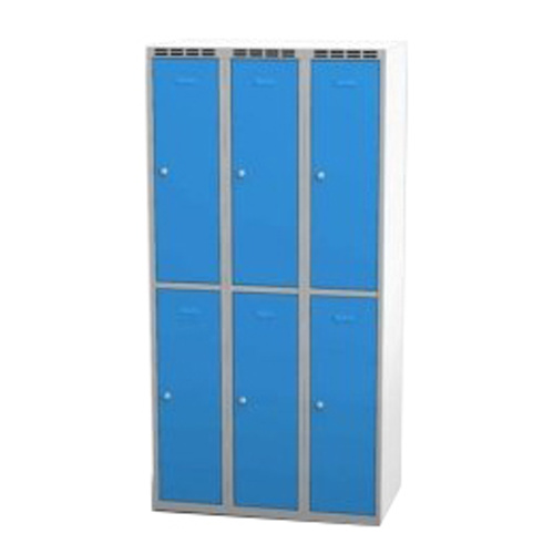 Parted wardrobe w 900 mm - greyish-blue