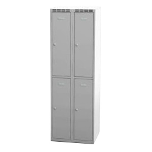 Parted wardrobe w 600 mm - grey