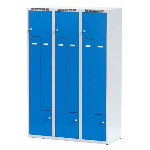 """Z"" wardrobe w 1200 mm - greyish-blue"