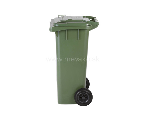 Waste containers mgb 80 lt plastic container green meva tec s r o - Garden waste containers ...